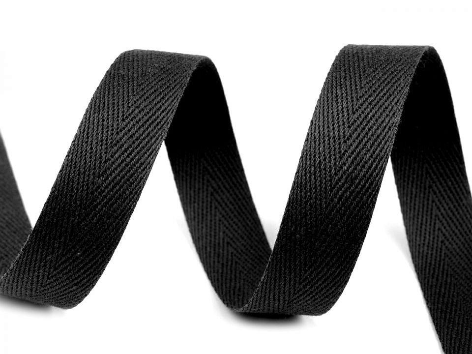 Stužka v barvě černá