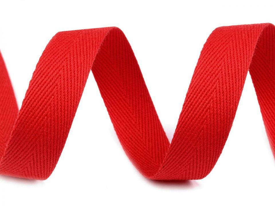Stužka v barvě červená